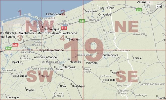 Map Location Diagram
