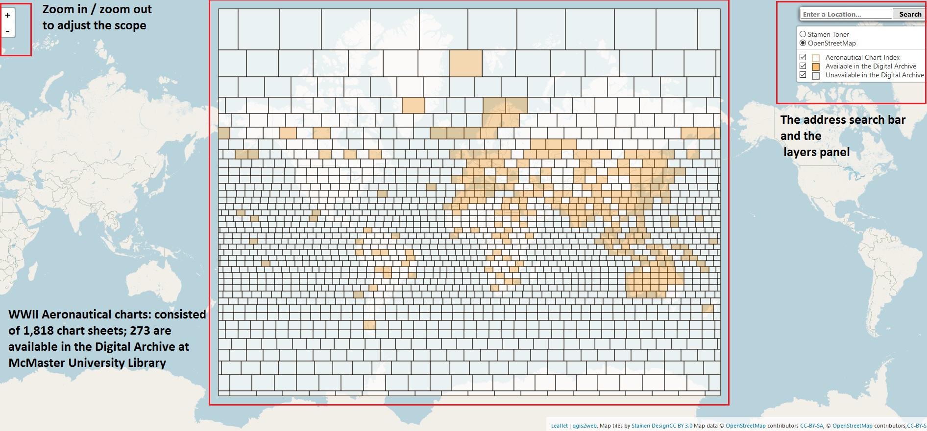 McMaster University's Aeronautical Charts Index