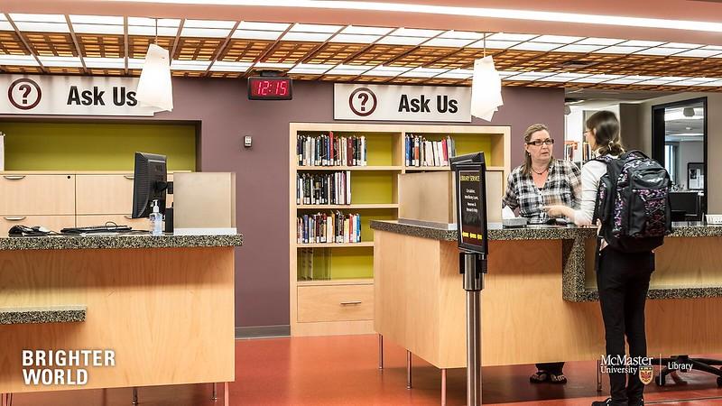 Mills Library Service Desk