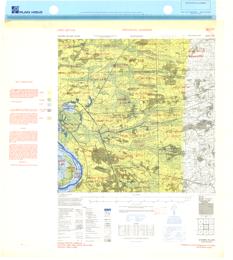 Bathmen, Eastern Holland  1:25,000  Map Sheet 3703, 1st Edition