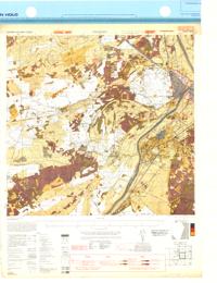 Tegelen, Eastern Holland  1:25,000  Map Sheet 4602, Going Map, 1944