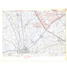 Zeebrugge SW, France and Belgium  1:25,000  Map Sheet 21 SW, Defence