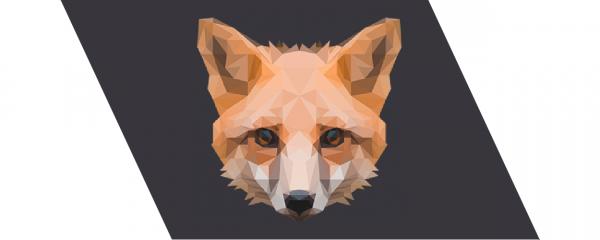 poly art fox thumbnail