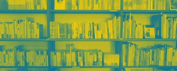 A bookshelf