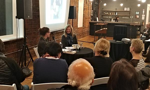 Anna Porter, one of Canada's most influential publishers, spoke about her new memoir and her prolific career as a publisher and author, during a recent event hosted by McMaster University Library, held at the Spice Factory in downtown Hamilton.