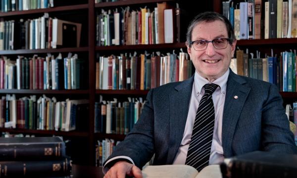 Philosophy professor and Russell scholar, Bernard Linsky