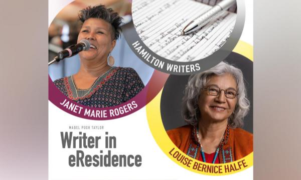 Janet Marie Rogers is hosting two events as she marks the end of her residency as the Mabel Pugh Taylor Writer in Residence.