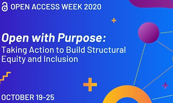 Official graphic for Open Access Week 2020