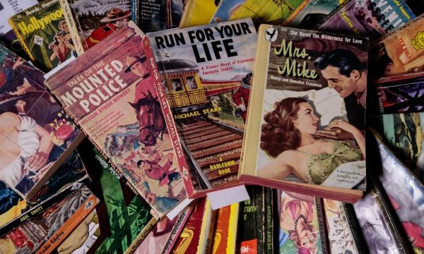 Pulp fiction paperbacks donated to McMaster University Library